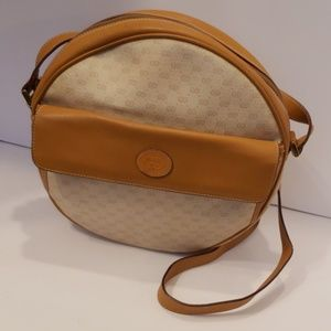 Gucci vintage cream crossbody bag